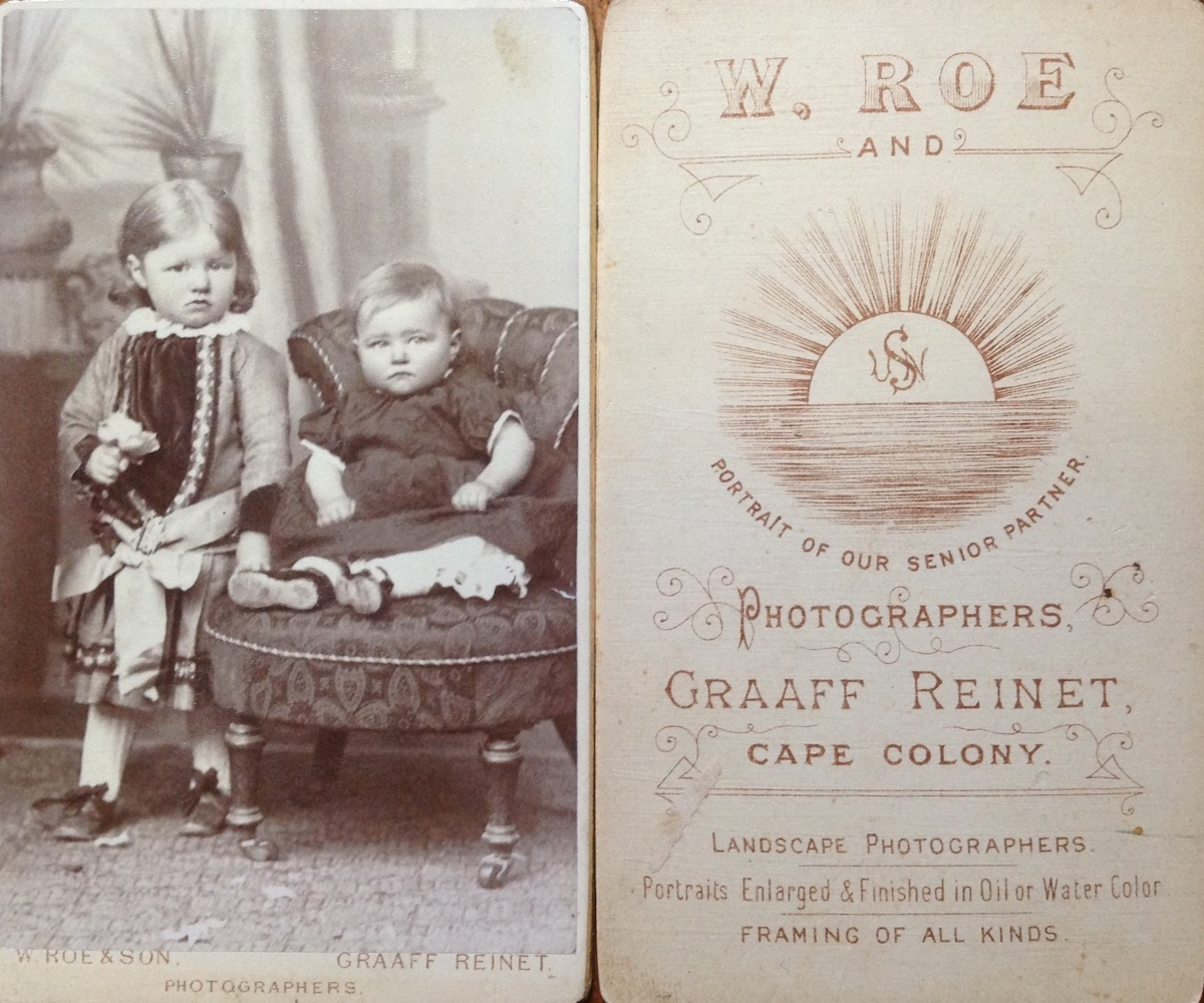 Carte De Visite Format Photographs By William Roe And Son Of