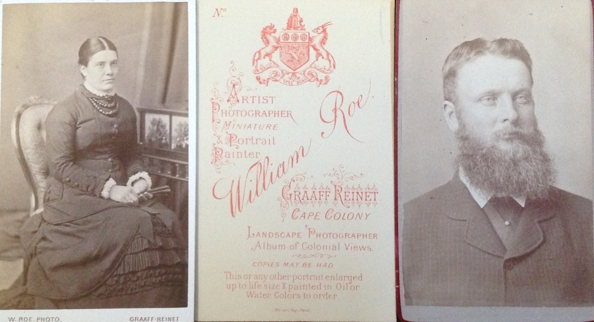 Carte De Visite Format Photographs By William Roe Of Unidentified Adults Circa 1878 Via Carol Hardijzer