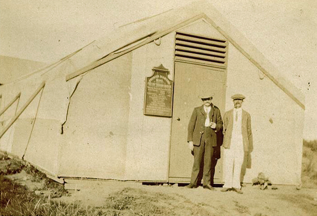 Presbyterian Church Cullinan opened in a tent via Mark Smith png