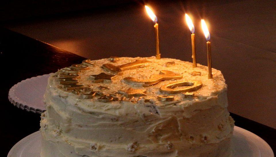 One Of The Birthday Cakes 130th Birthday Celebrations Gail Scott