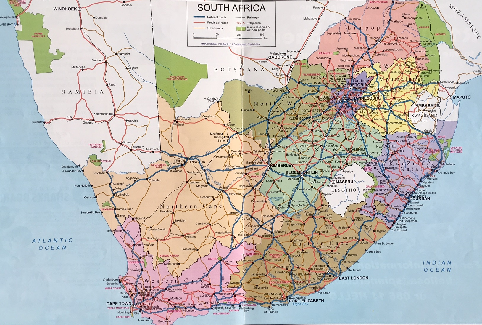 Road Map South Africa Hello Durban 2012 Jpg The Heritage Portal