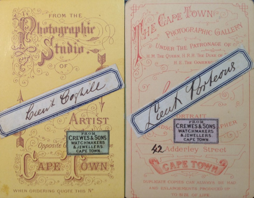Wilhelm Hermann And Samuel Barnard Carte De Visite Card Stock Via