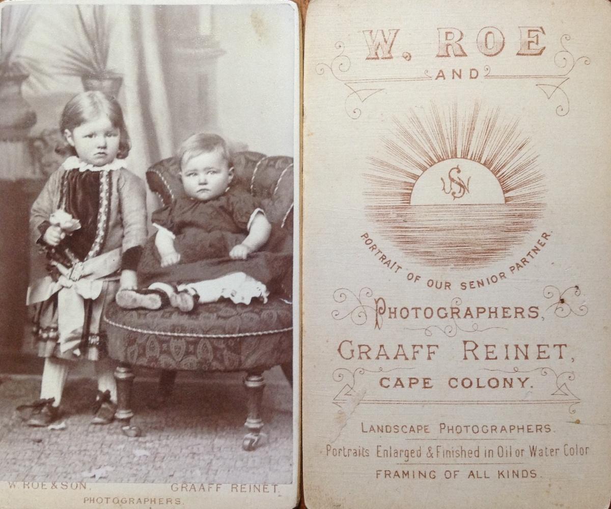 William Roe 1827 1916