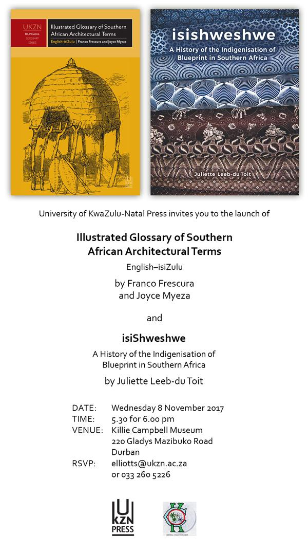 Book launch illustrated glossary of southern african glossary of sa architectural terms and isishweshwe book launchg malvernweather Image collections