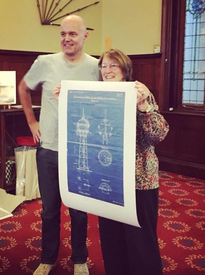 Original 1913 blueprint of the yeoville water tower unveiled the the malvernweather Images