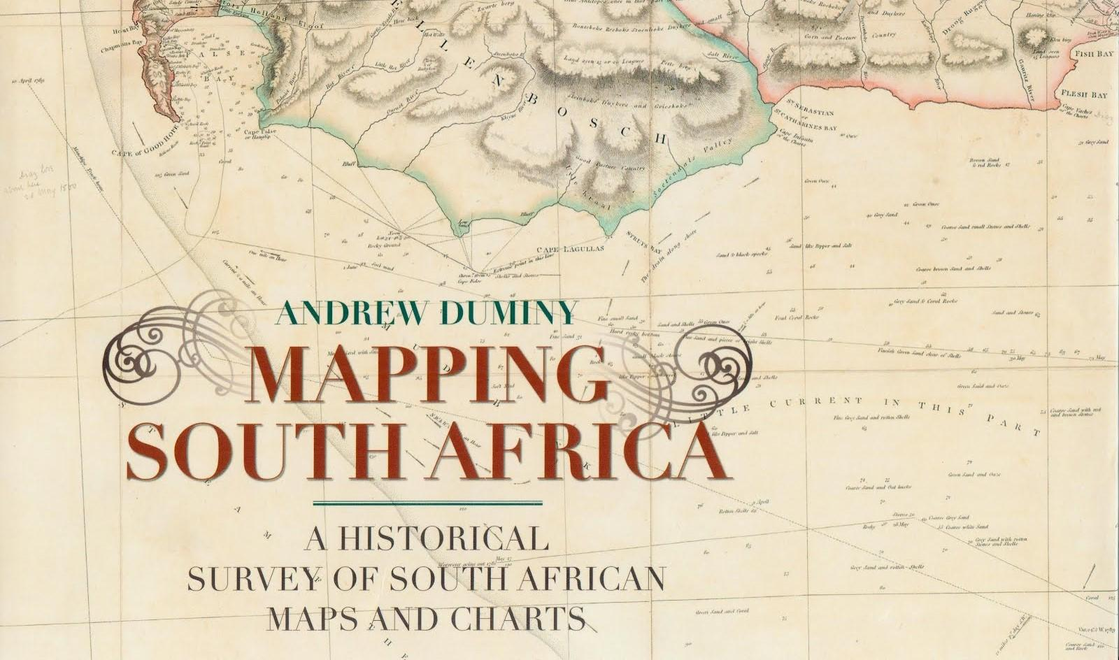 get this book if you collect south african maps