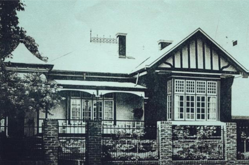 Old photo of House Hains