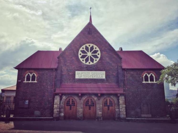 Troyeville Baptist Church johannesburg