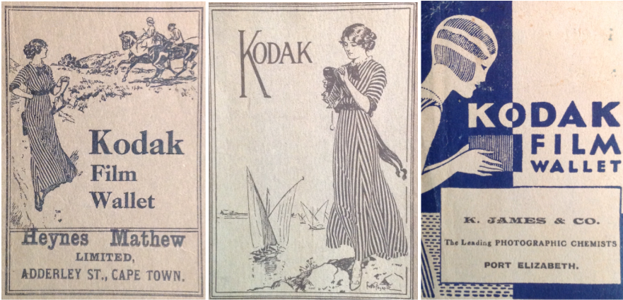 The Kodak Girl - South African Film Wallets (1910s to 1960s